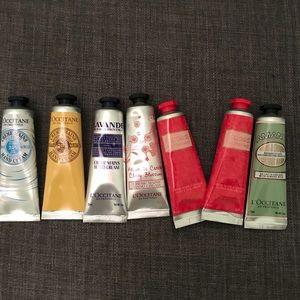 {L'Occitane} hand cream